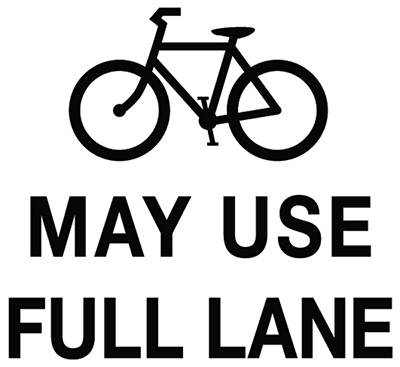 May Use Full Lane