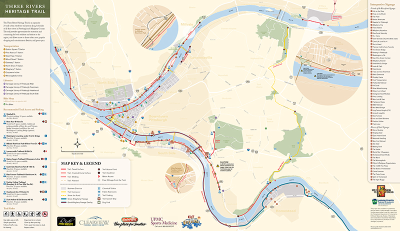 Three Rivers Heritage Trail — Pittsburgh, PA on simple map of pittsburgh, interactive map iowa, animated map of pittsburgh, overview of pittsburgh, live map of pittsburgh, 3d map of pittsburgh, churches of pittsburgh, architecture of pittsburgh, business map of pittsburgh, interactive map va, funny map of pittsburgh, product map of pittsburgh, interactive map texas, museums of pittsburgh, photography of pittsburgh, beaches of pittsburgh, neighborhoods of pittsburgh, aerial map of pittsburgh, food of pittsburgh, printable map of pittsburgh,